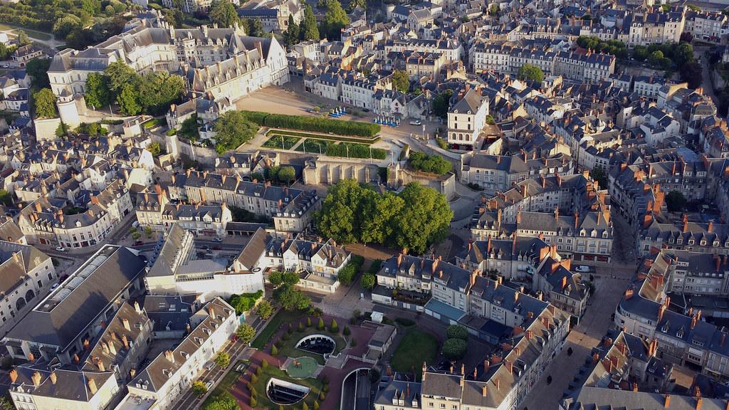 Blois desde el cielo