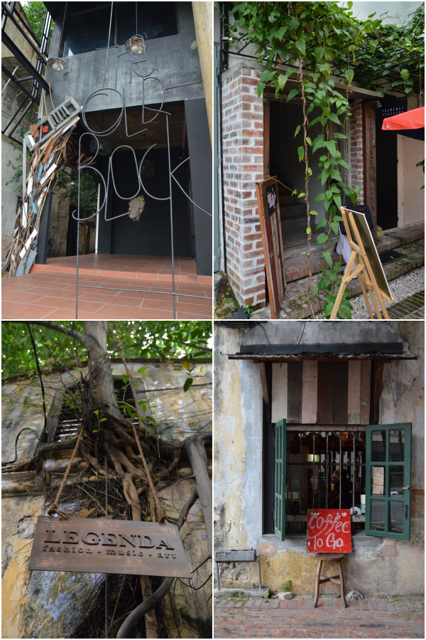 Collage Old Town Walk
