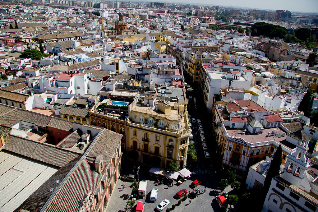 Views of Seville from the Tower of Seville