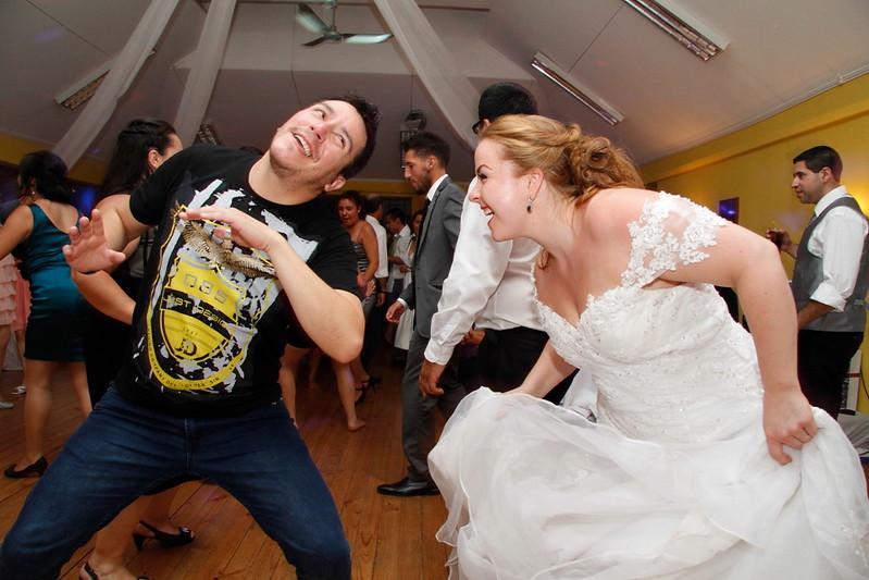con el profesor de baile