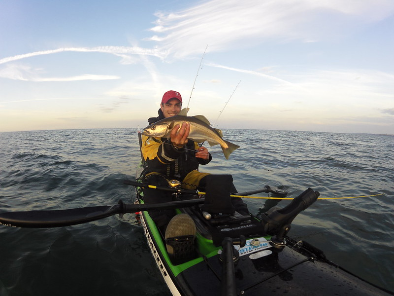 Kayak Fishing Pollock