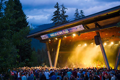 Sam Roberts Band putting on a free show at Whistler Olympic Plaza