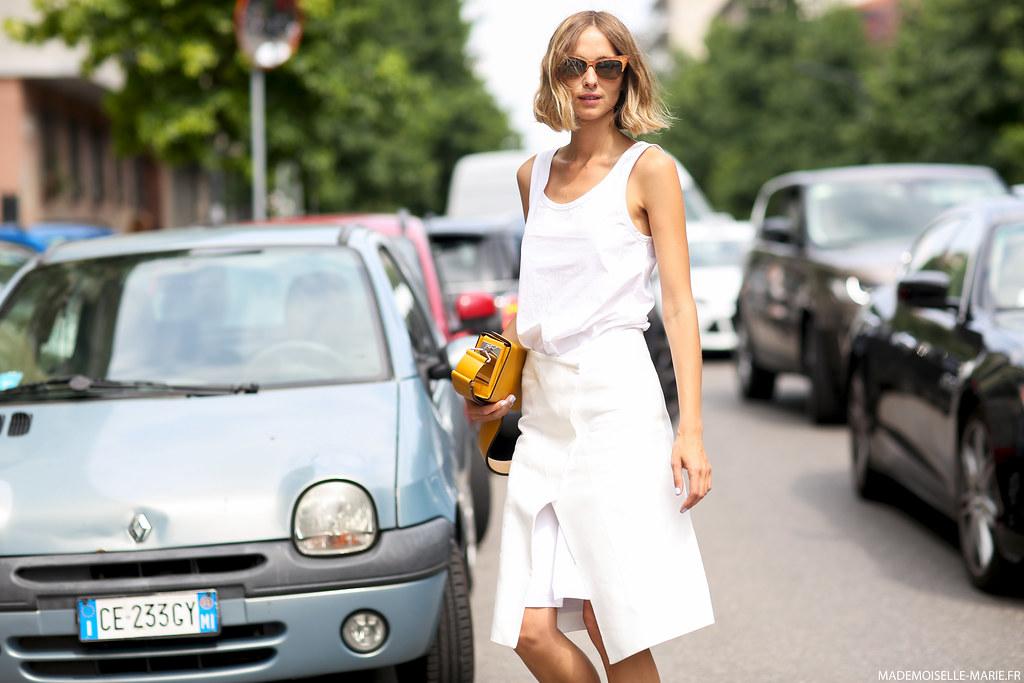 Candela Novembre at Milan Fashion Week Menswear