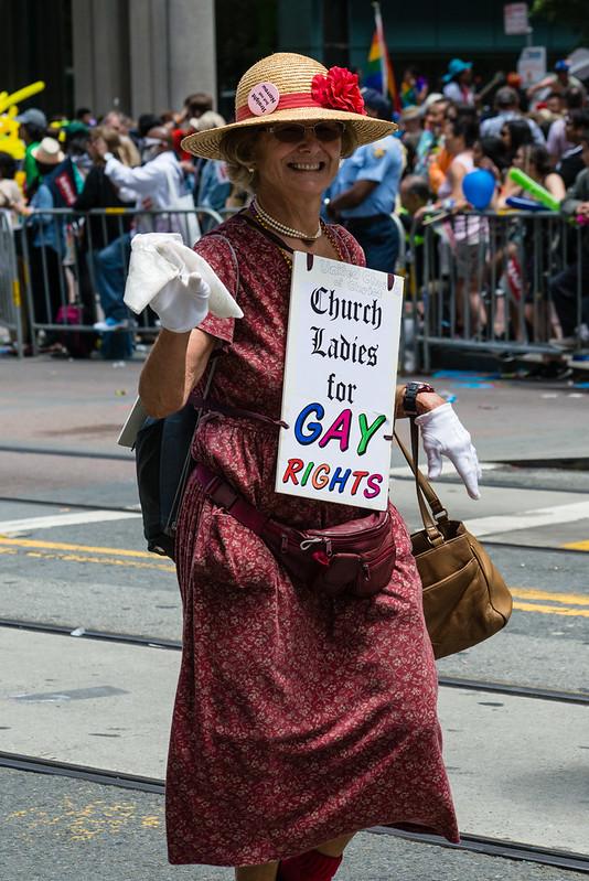 San Francisco Pride / Church Ladies & Gents