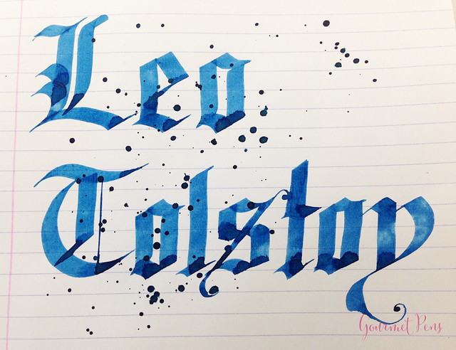 Ink Shot Review Montblanc Leo Tolstoy Sky Blue Ink @AppelboomLaren (13)