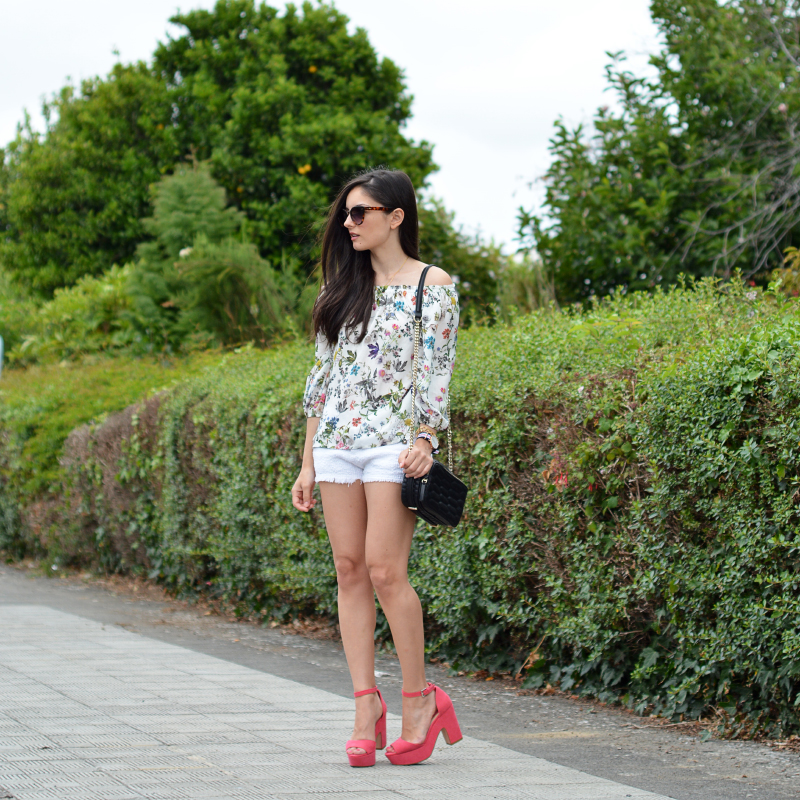 zara_ootd_outfit_off the shoulder_shorts_05