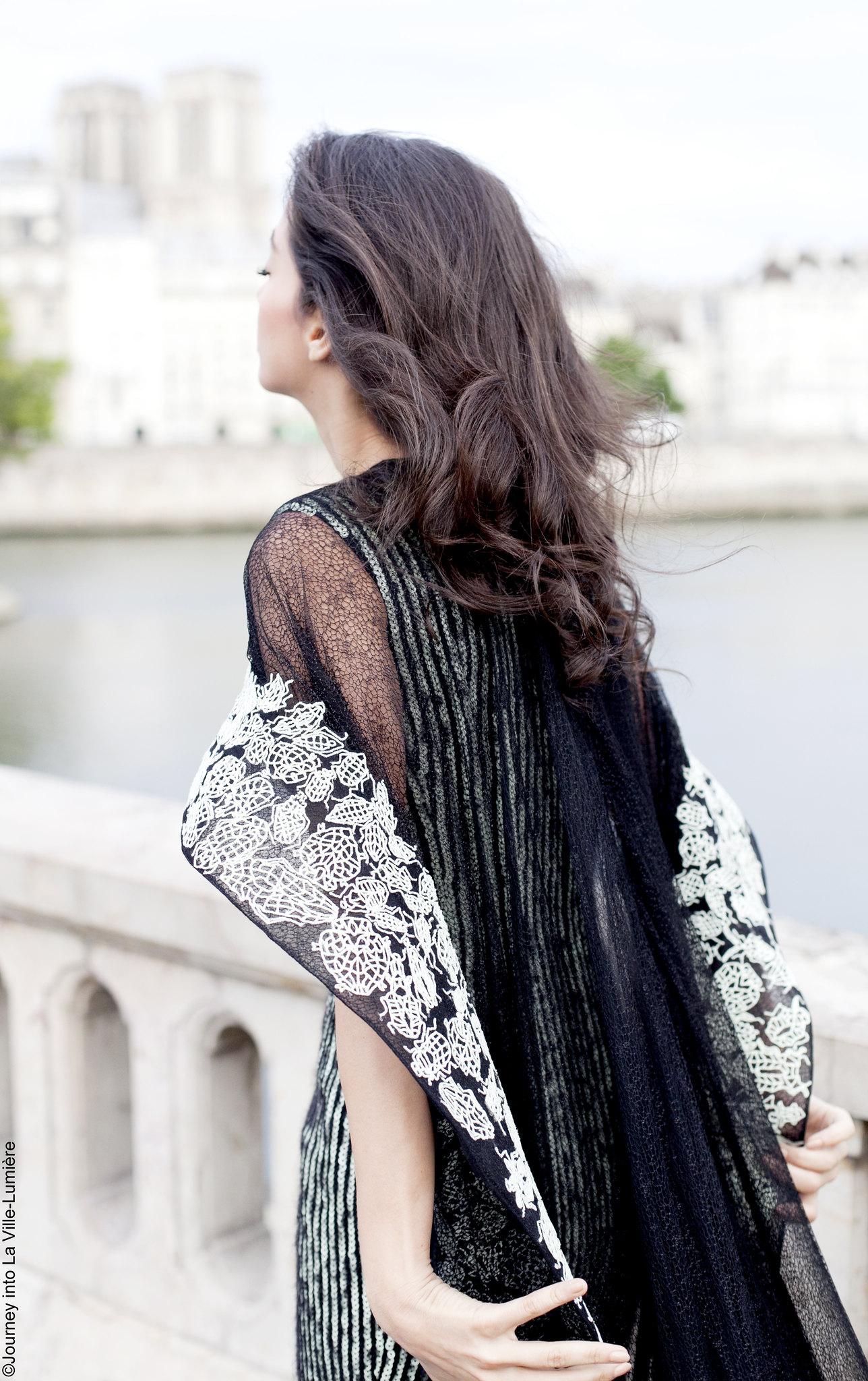 Lana El Sahely wearing Rami Kadi' new collection