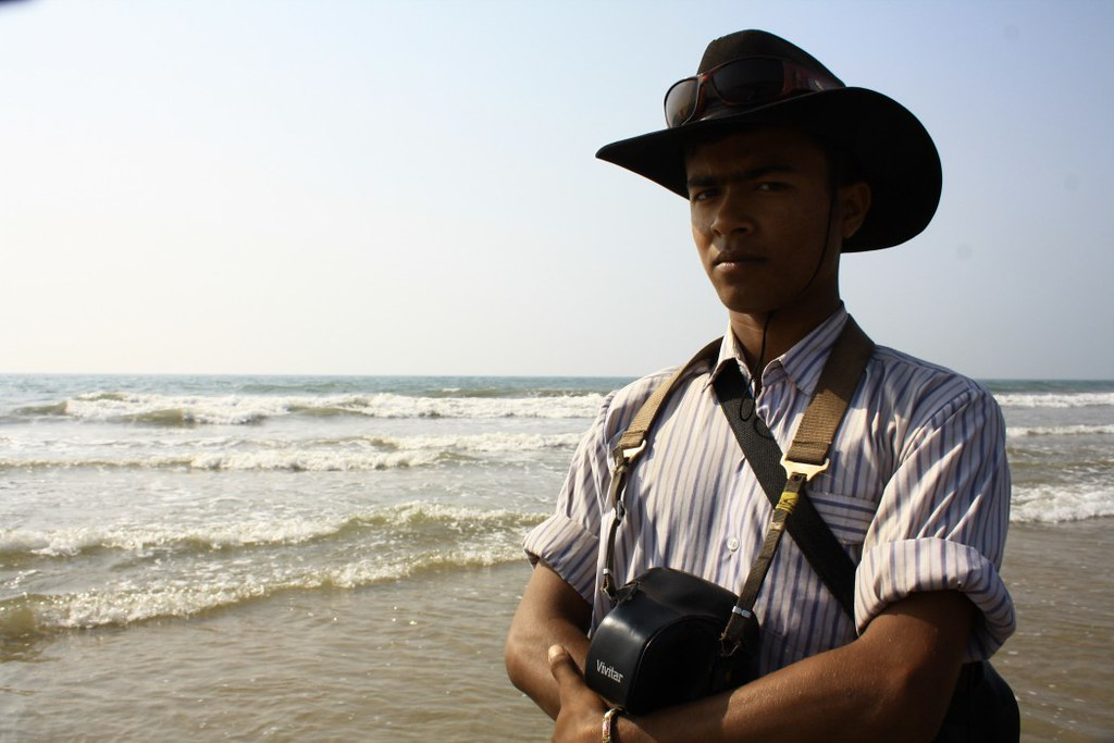 Seabeach side Photographer Photographed at Digha Sea Beach - West Bengal, India
