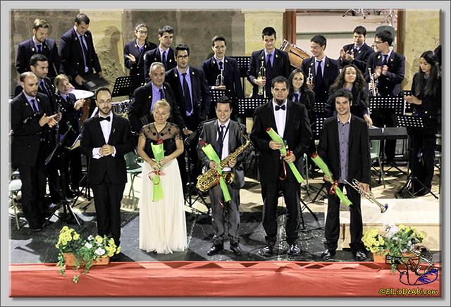 1 Concierto de la Banda Municipal de Música de Briviesca con solistas