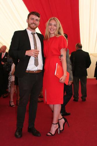 James Auer and Georgina Clewes