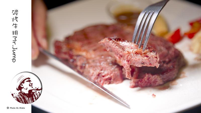 原味炭火肩胛牛排8盎司-中永和寵物餐廳-Mr.Jump 美式碳烤牛排