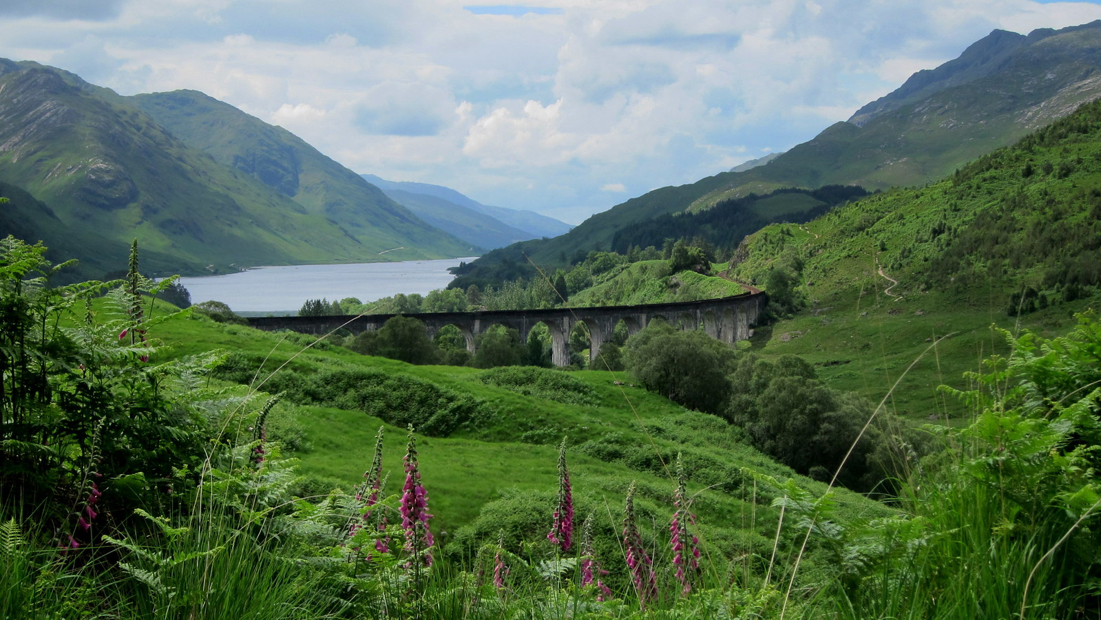 "Exploring The ""Harry Potter Bridge"": Glenfinnan Viaduct ... 