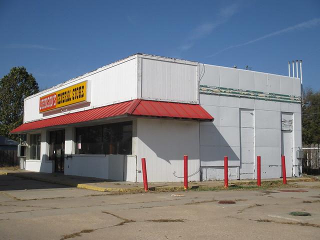 Texaco Gas Station Yates Center,KS