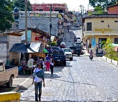 'Overseas Adventure Travel', Copan Ruinas village, OAT, street, walking, Winsome