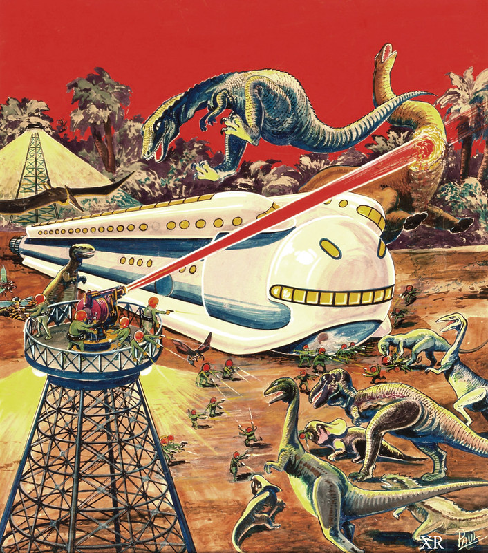 1934 ... Dinos Amock!
