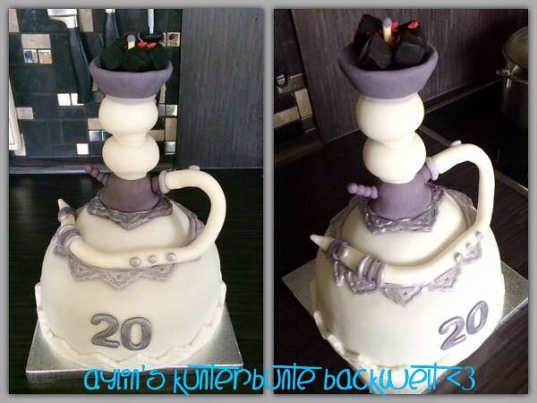 3D Shisatorte by Aylin's kunterbunte Backwelt