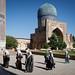 Uzbek pilgrims by Lil [Kristen Elsby]