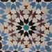 Mosaic (zillij) - Ali Ben Youssef Mosque by Hindolbittern