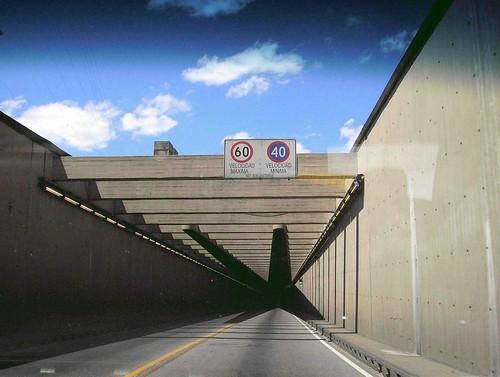 entrando al Túnel