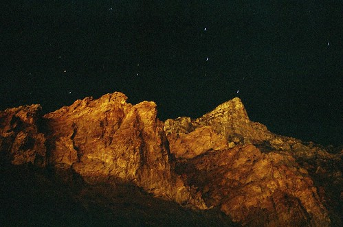 night mountain