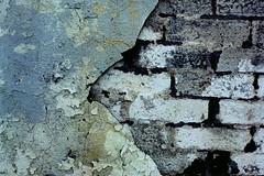 Plaster and bricks