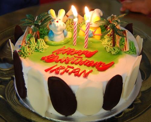 Cake Birthday Irfan 2 Tahun Adhadi Mohd Flickr