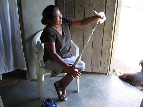 emeline baretto spinning cotton