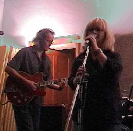 Shirley, singer, Seoras, lead guitar - BTTB