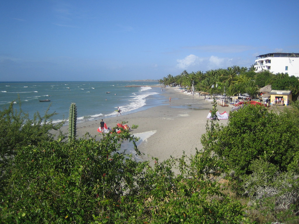 пляж Playa El Yaque