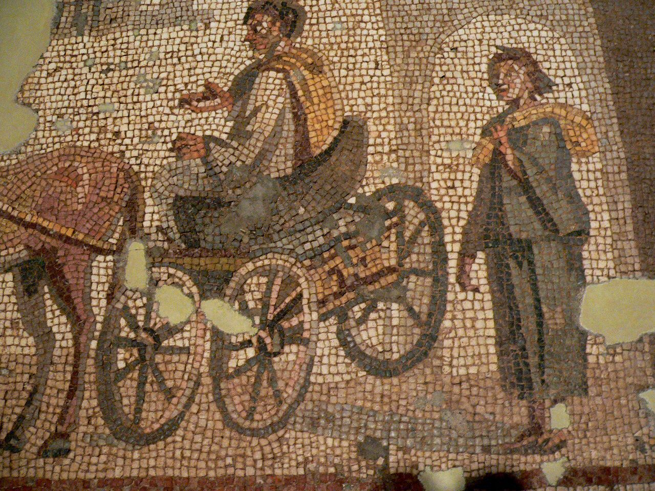 Departure Mosaic from the House of Menander in Antioch 250 CE 3