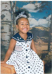 child, art, pattern, clothing, pattern, polka dot, design, person, dress, toddler,