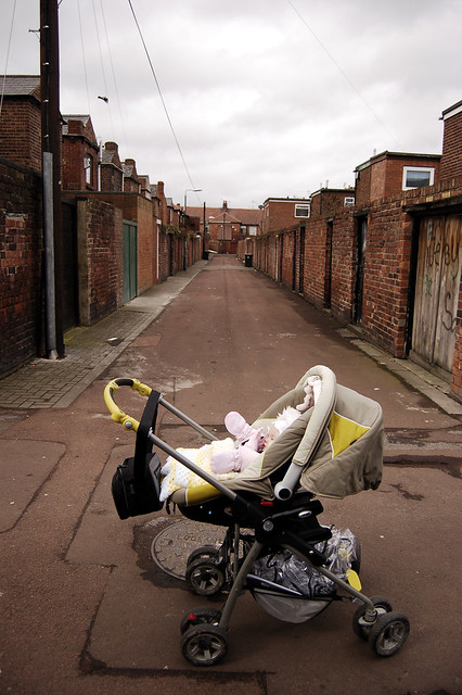 Molly and the lane where I learned to cycle