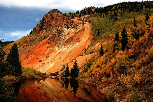 Fall Foliage, Silverton, Colorado