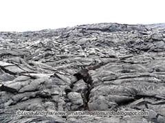 Trilha de lava