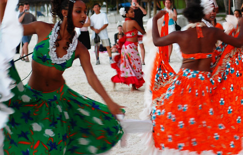 What to do in Mauritius - try the sega dance