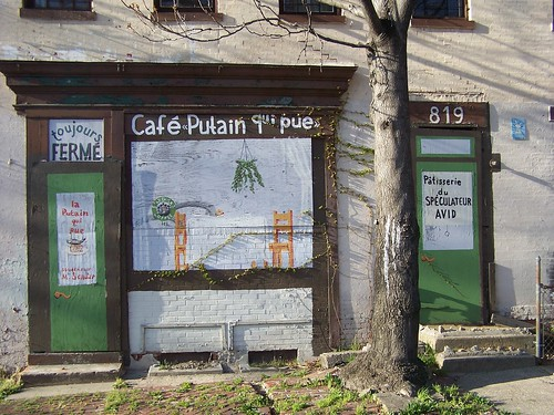Cafe Putain -- 1500 block of 9th Street NW