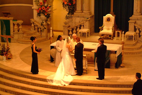 Our vows at the altar...