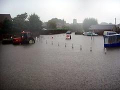 Hopton Flooding Norfolk
