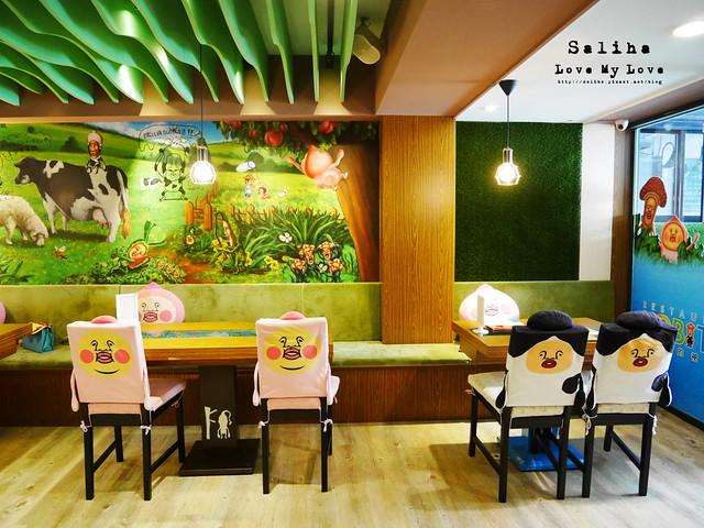 台北東區主題餐廳醜比頭的秘密花園輕食咖啡屁桃 (21)
