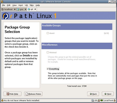 rpath groups everything   screenshot rpath gnu/linux distro