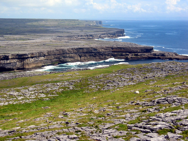 Aran Islands - Cliffs by Flickr CC tiarescott