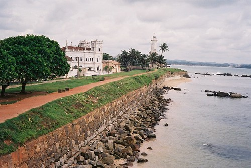 Mosque and Lighthouse, Galle, Sri Lanka