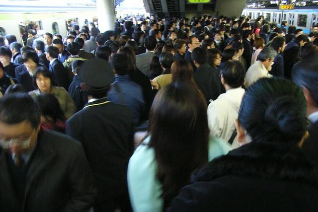 Morning Rush in TOKYO JAPAN