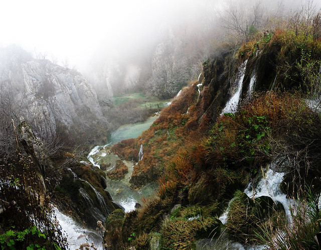 Wide Open Waterfall - Plitvice Lakes National Park ...