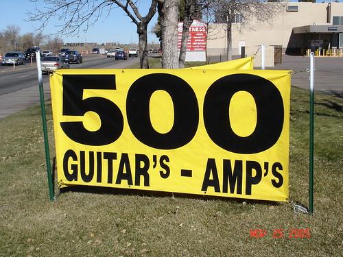 Guitar's & Amp's