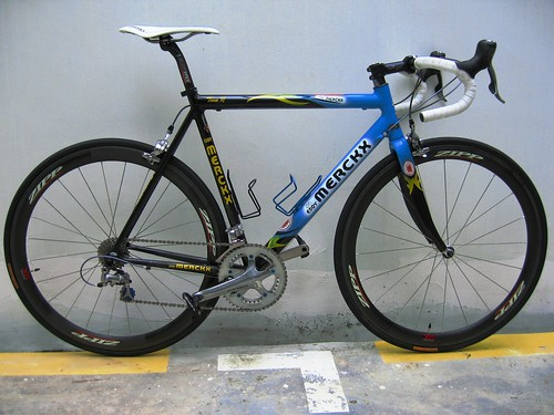Edward's Eddy Merckx Team SL Full Scandium