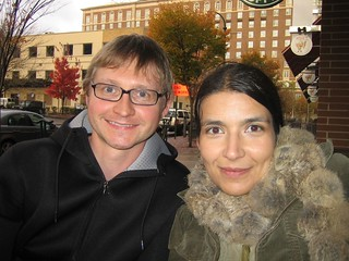 Hartmut and me 2005