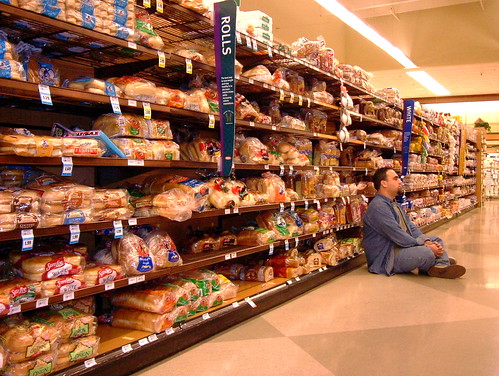 chillin' in the bread aisle