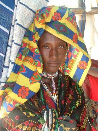 Woman from a Umm Bororo tribe