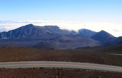 A Breathtaking View of Haleakala Crater from the Haleakala Visitor Center, Haleakala National Park, Maui, Hawaii